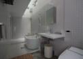 トイレと浴室と洗面所を一体空間とした例