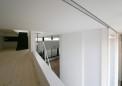 1階を見下ろす中間階納戸