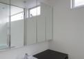 造作による脱衣室家具