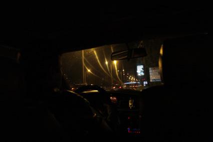 02タクシーの車窓から