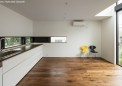 i型壁つけの合理的なキッチン配置