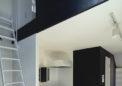 ロフトのある個室